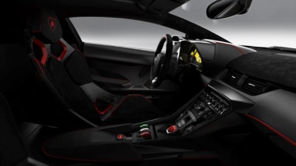 Interior Lamborghini Veneno