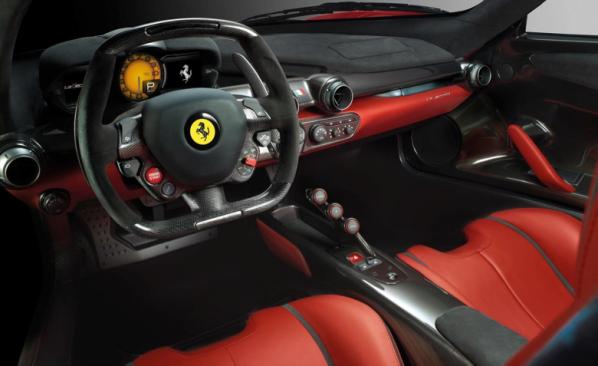 Interior La Ferrari
