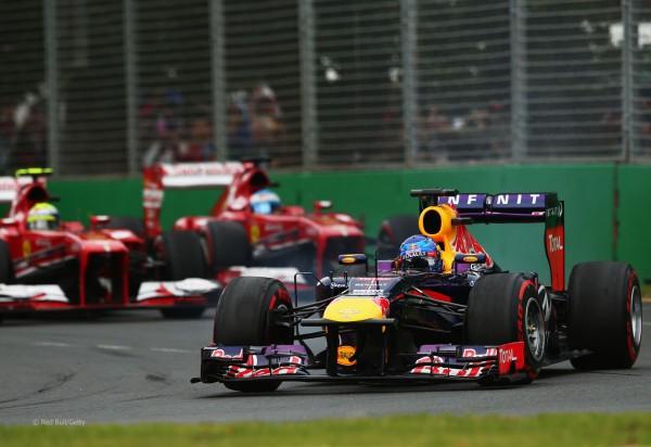 RB y Ferrari