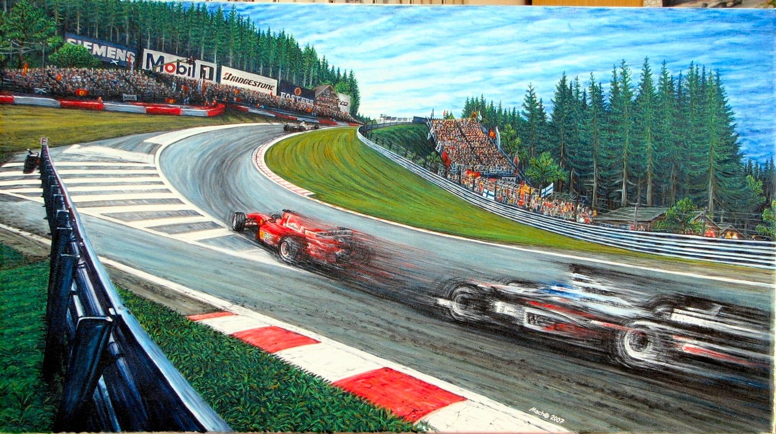 Circuito Spa : Spa francorchamps el circuito eterno cuentavueltas.com
