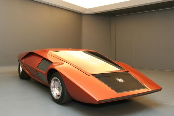 El primer prototipo del Stratos tenía esta pinta tan peculiar.