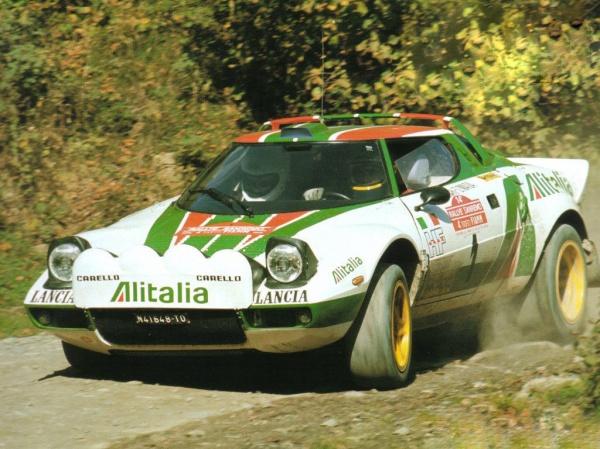 El Stratos consiguió la triple corona consecutiva en el Mundial de Rallies: 1974, 1975 y 1976