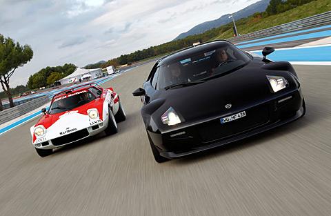El New Stratos es un proyecto que Ferrari ha querido iniciar para reavivar la leyenda