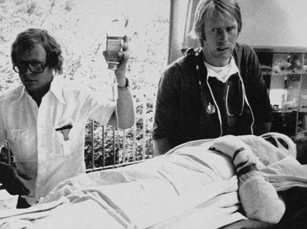 La vida de Lauda corrió serio peligro durante 4 días