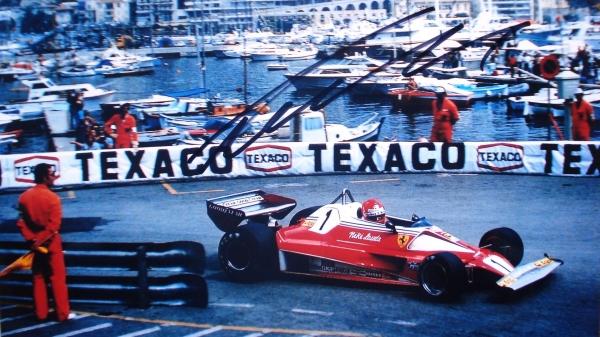 Lauda ganó el GP de Mónaco de 1975